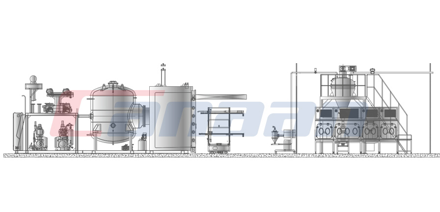 Overall Solution of Freeze-Drying Refining Drying Package System
