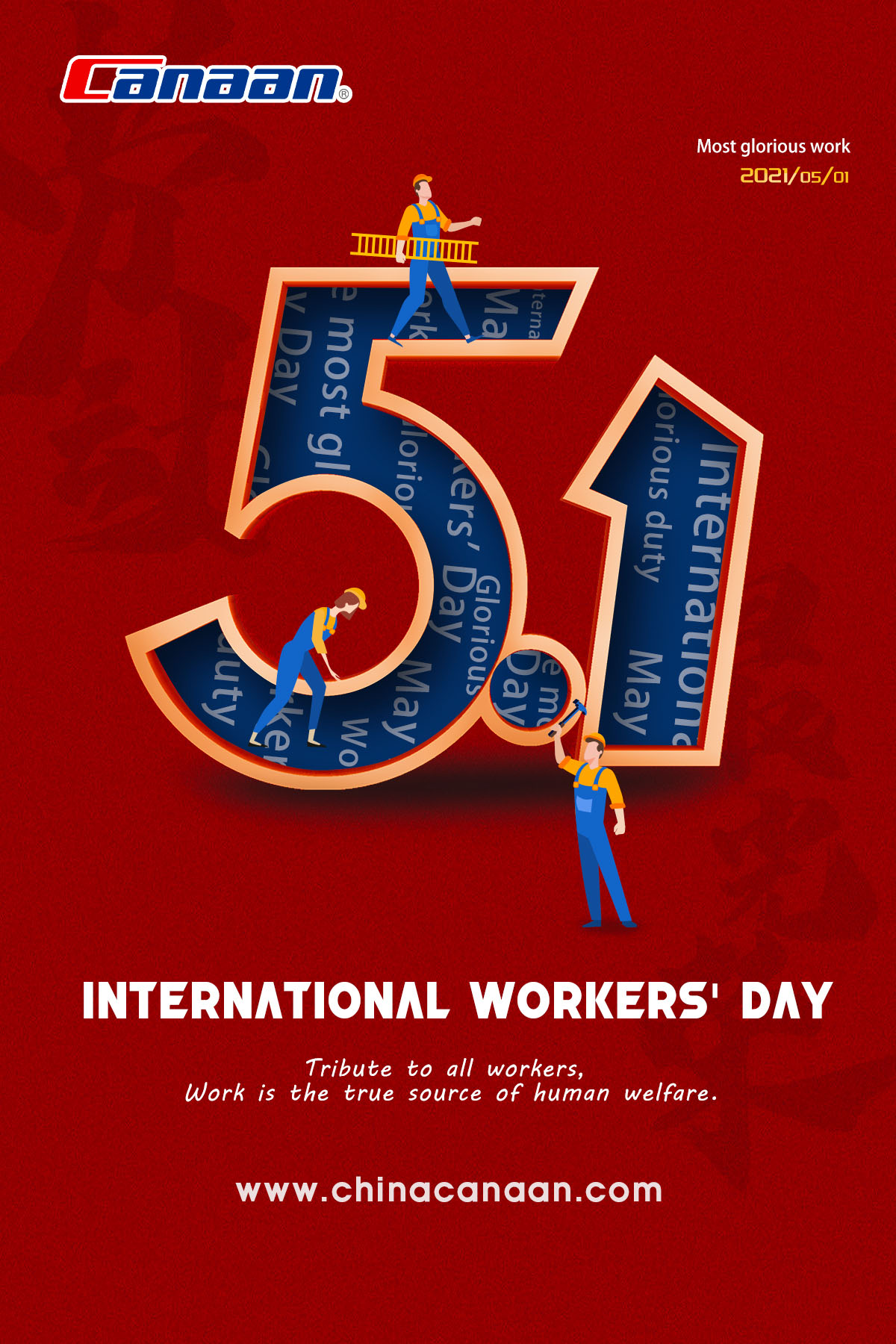 Happy International Worker's Day!