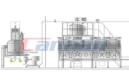 Freeze-Drying Refining Drying Package System